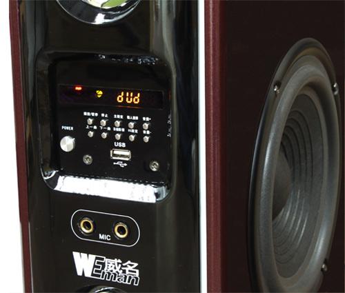附全功能遥控器(可与点歌机同步遥控) 规格: 数量:  weman威名