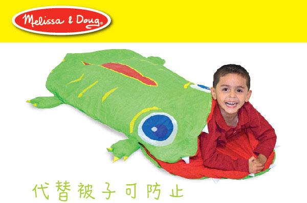 美国m&d小鳄鱼奥吉舒眠睡袋