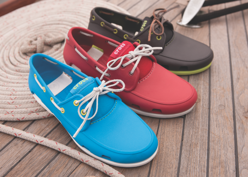 【crocs】男士海滩帆船鞋