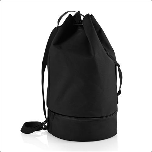 束口水桶包(黑)