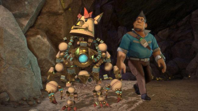 瑟尼配合次世代主机 ps4 发想的原创新作,游戏中玩家将操作巴卡