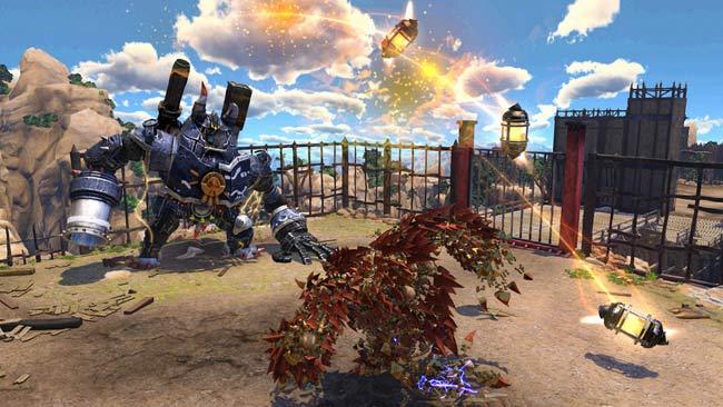 瑟尼配合次世代主机 ps4 发想的原创新作,游戏中玩家将操作