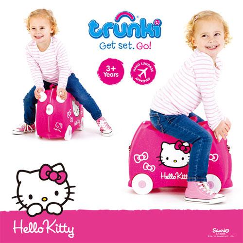 可乘坐儿童行李箱-kitty