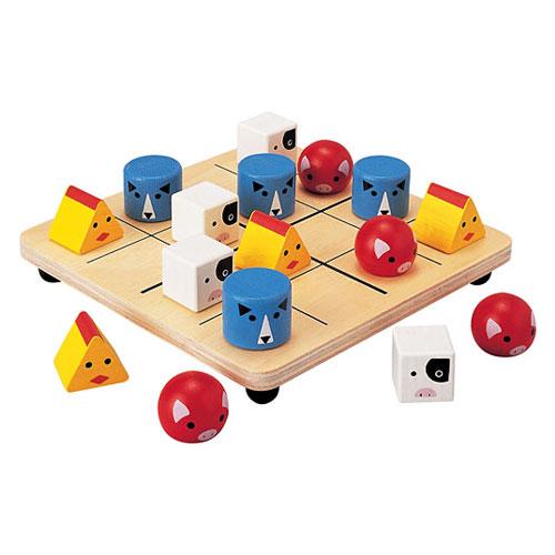 plan toys 学龄前积木-动物拼图
