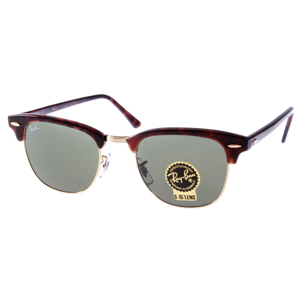 ray ban rb3016 clubmaster sunglasses mock tortoise arista frame  ban clubmaster/#rb3016