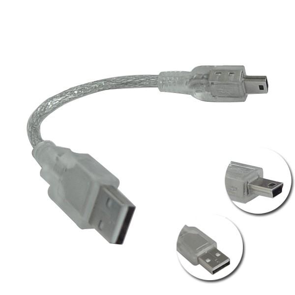 usb连接线大转小(mini usb)