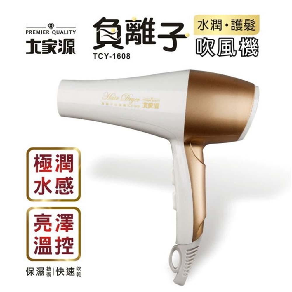 【大家源】负离子水润护发吹风机 TCY-1608