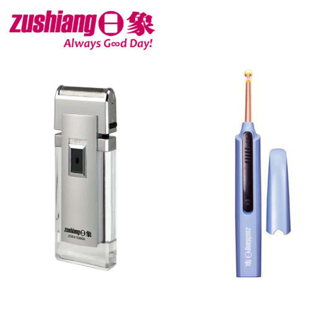 日象晶銳電鬍刀+電池式潔耳器ZOEH-5360A+ZOE-1202