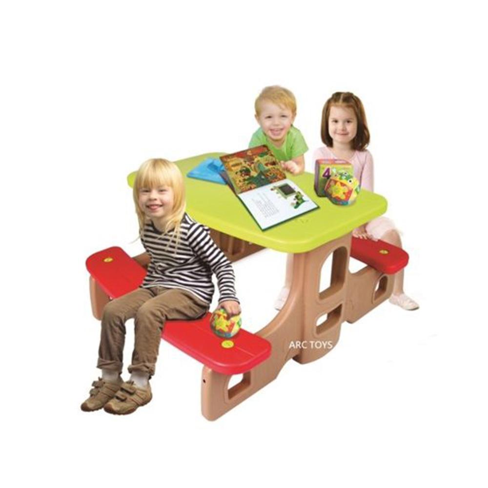 韓國【HAENIM TOYS】兒童遊戲野餐桌椅 DS-908