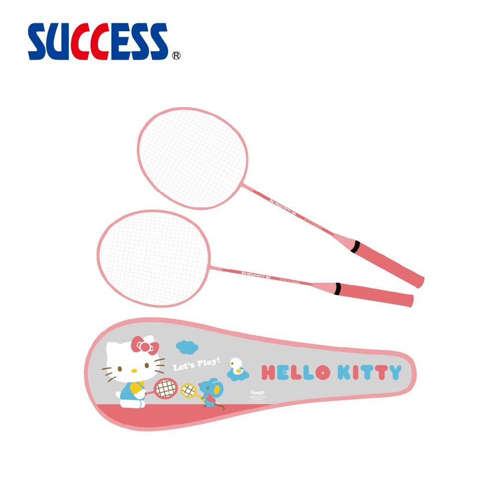 成功SUCCESS kitty雙人羽拍組A241