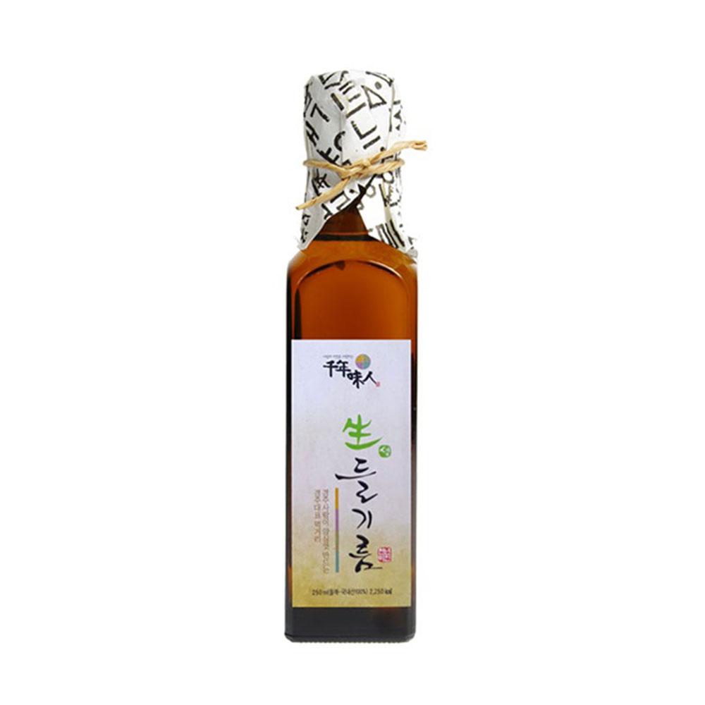 韓國千年味人初榨冷壓紫蘇油二入組