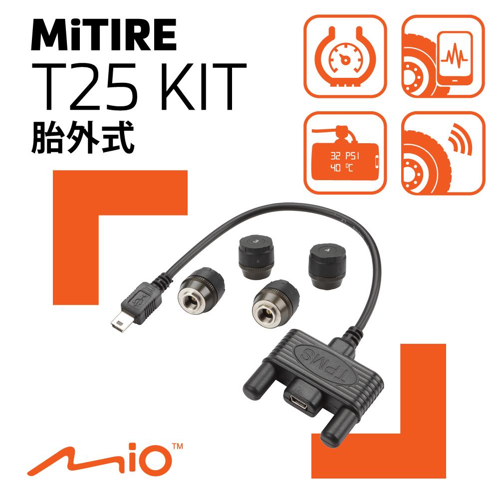 Mio MiTIRE T25 KIT 胎外式胎壓偵測套件