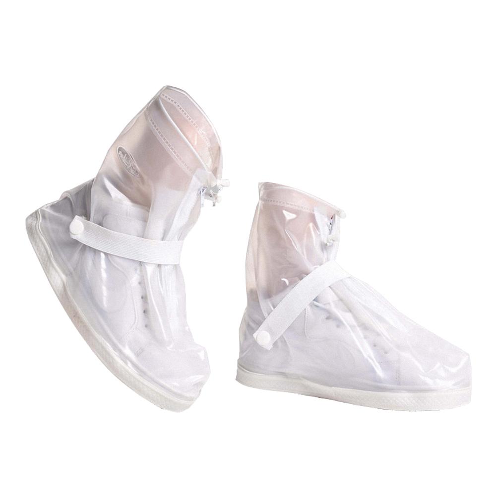 防雨鞋套 透明 短版
