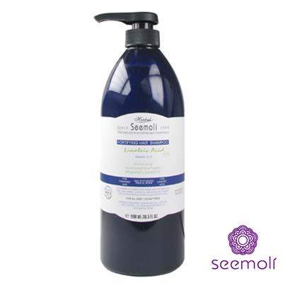 【Seemoli蓆沐麗】亞麻仁油酸嚴重受損重建洗髮精1100ml