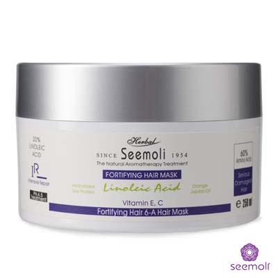 【Seemoli蓆沐麗】亞麻仁油酸嚴重受損重建髮膜250ml