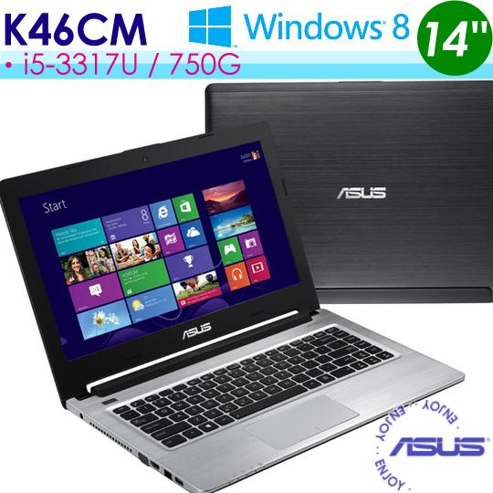【升8G】ASUS K46CM-0141A3317U 14吋/i5-3317/GT635M 獨顯2G