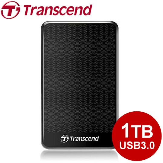 【下殺】創見 2.5吋 SJ25A3 1TB USB3.0 抗震行動硬碟