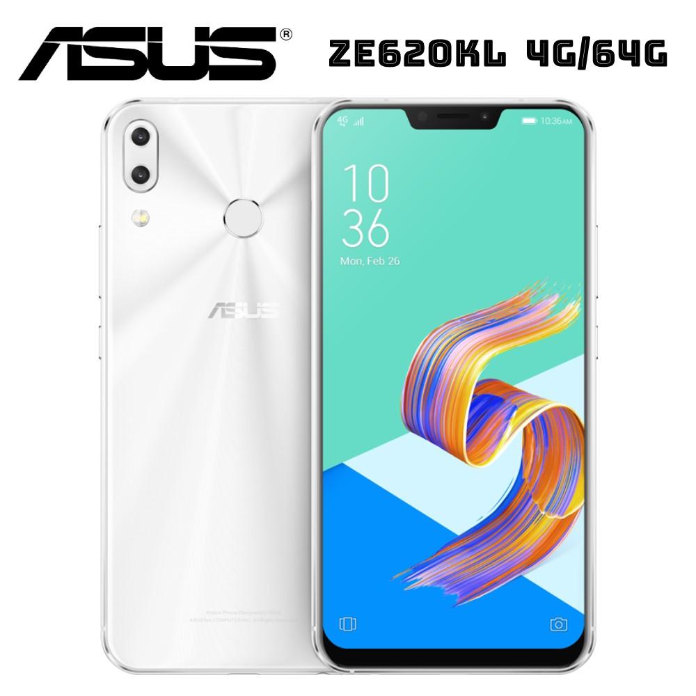 3好礼★ASUS 华硕 ZenFone 5 ZE620KL AI智慧双镜头手机 孔刘限定版-雪花白 (4G/64G)