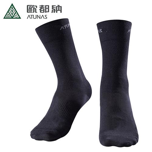 【歐都納】X-STATIC銀纖維除臭紳士襪 A-A1516
