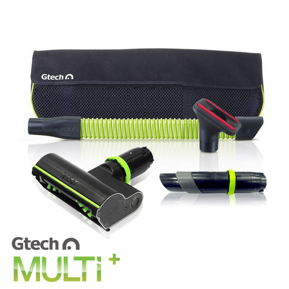 英国 Gtech 小绿 Multi Plus 原厂电动滚刷除螨吸头套件组
