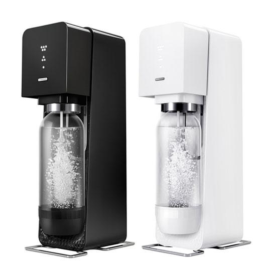 【Sodastream】SOURCE氣泡水機 送雞尾酒糖漿+啜飲杯(口味顏色隨機)