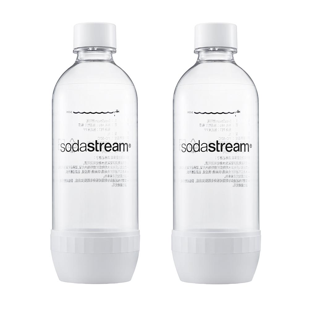 【Sodastream】寶特瓶1L二入(白)