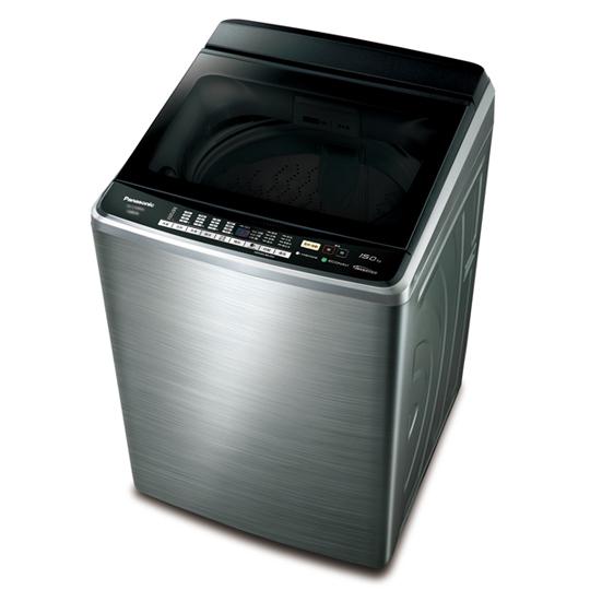 Panasonic 15公斤變頻不鏽鋼洗衣機(NA-V168BBS)
