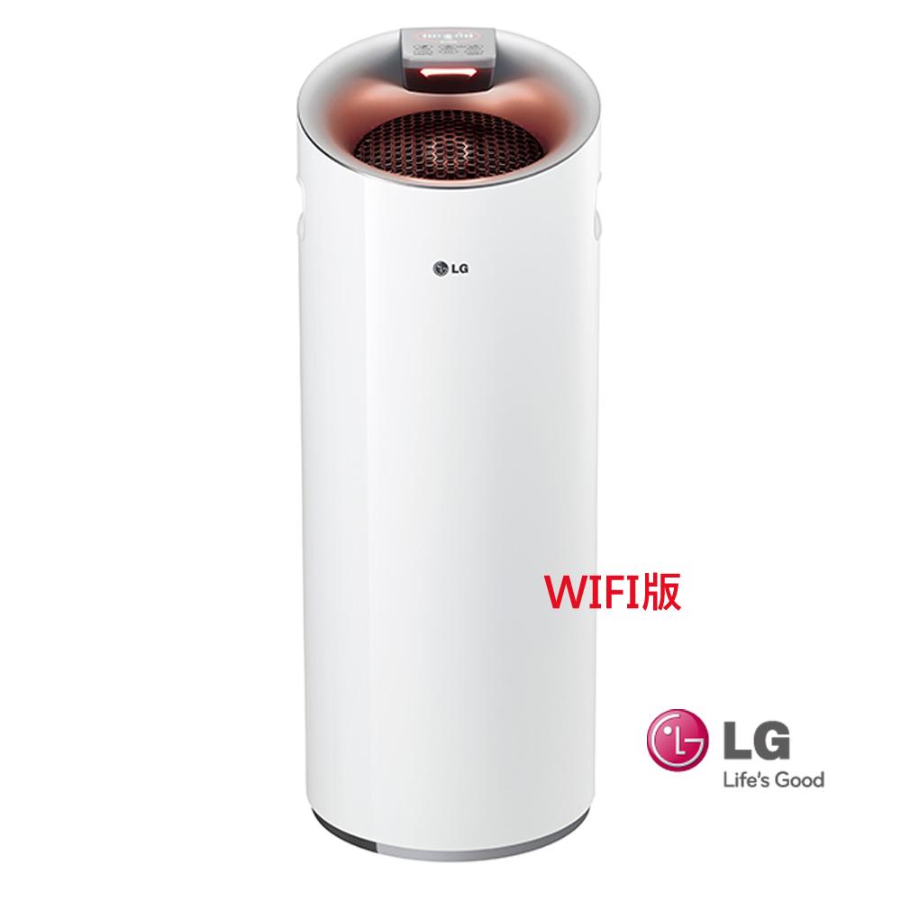 LG樂金韓國原裝【WIFI版】空氣清淨機(適用13坪內)AS401WWJ1