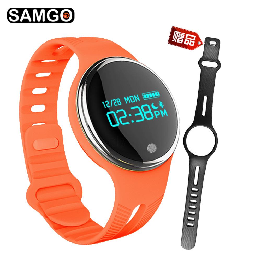 【SAMGO】 E07运动计步触控智慧手环