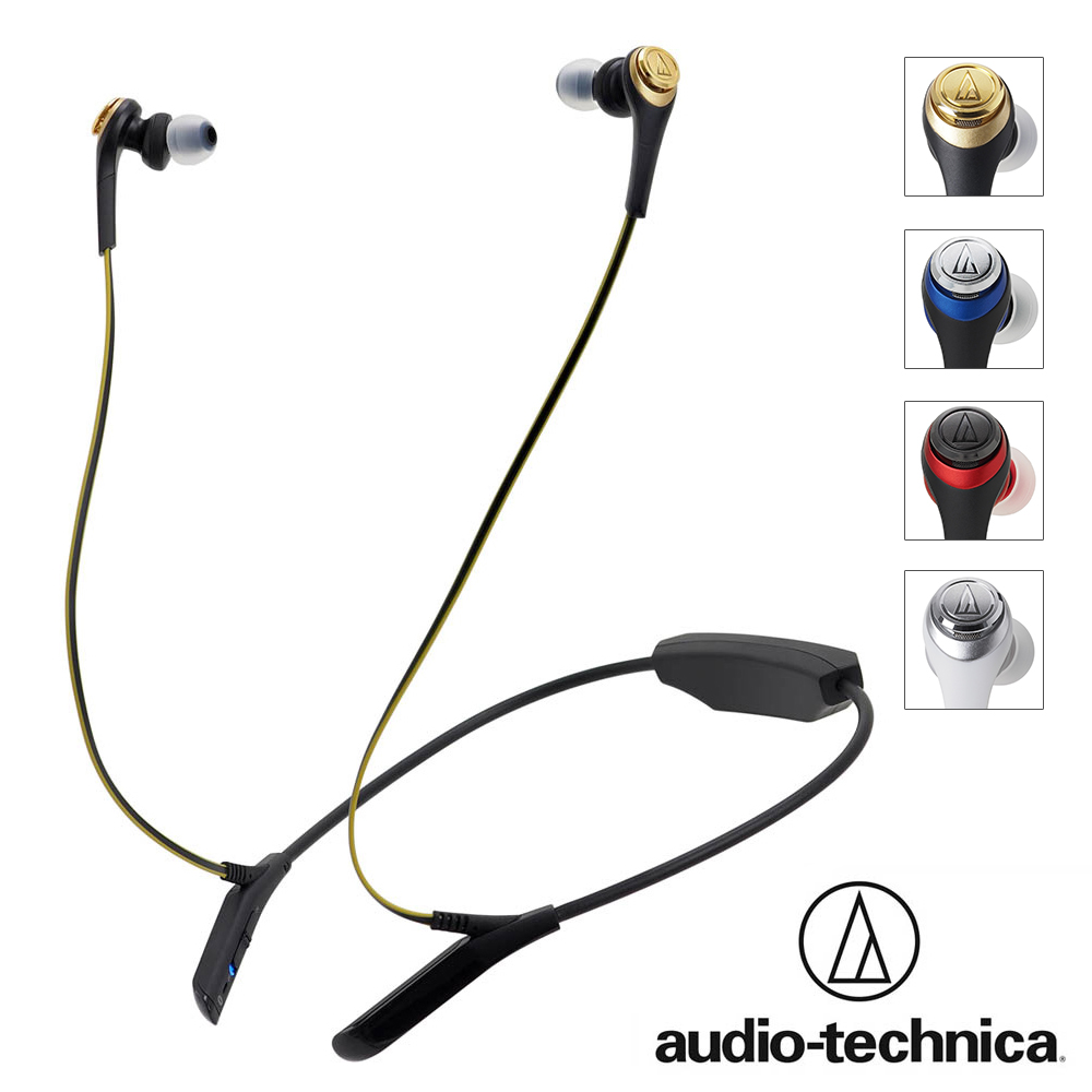铁三角 ATH-CKS550BT蓝芽无线耳机麦克风组