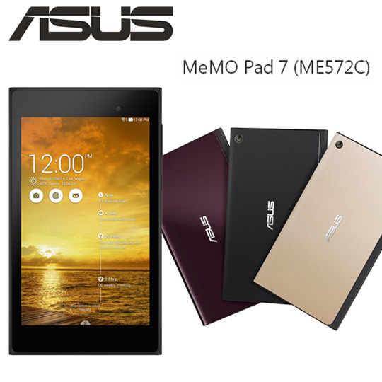 ASUS MeMO Pad 7 ME572C 美型四核心7吋平板(16G/WiFi版)