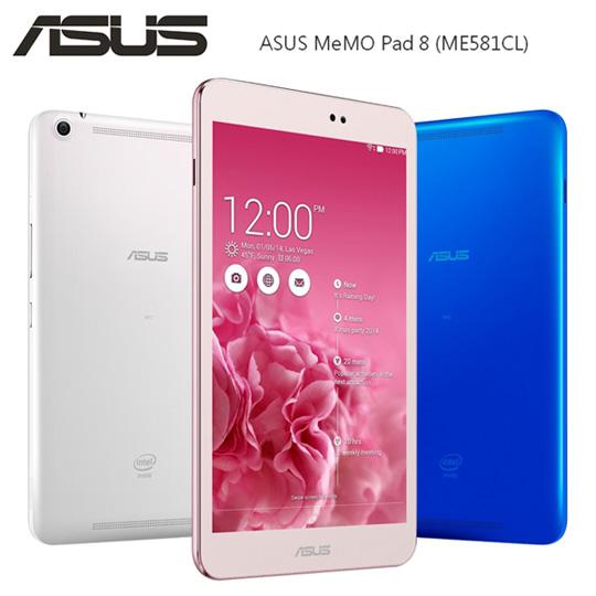 ASUS MeMO Pad 8 ME581CL 美型四核心8吋平板(16G/ LTE版)