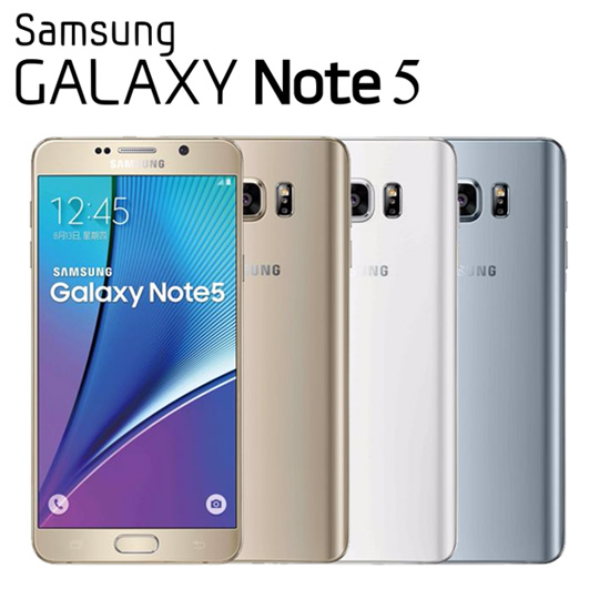Samsung Galaxy Note 5 八核心5.7吋雙卡4G LTE智慧機(32GB版)★贈手機保護套★