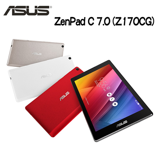 ASUS ZenPad C 7.0 (Z170CG)7吋四核心雙卡3G通話平版(8GB版)