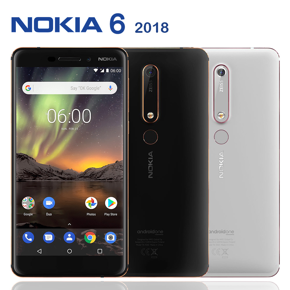 Nokia 6.1 (2018) 4G/64G八核心5.5吋双卡机※送NOKIA笔记本+支架※