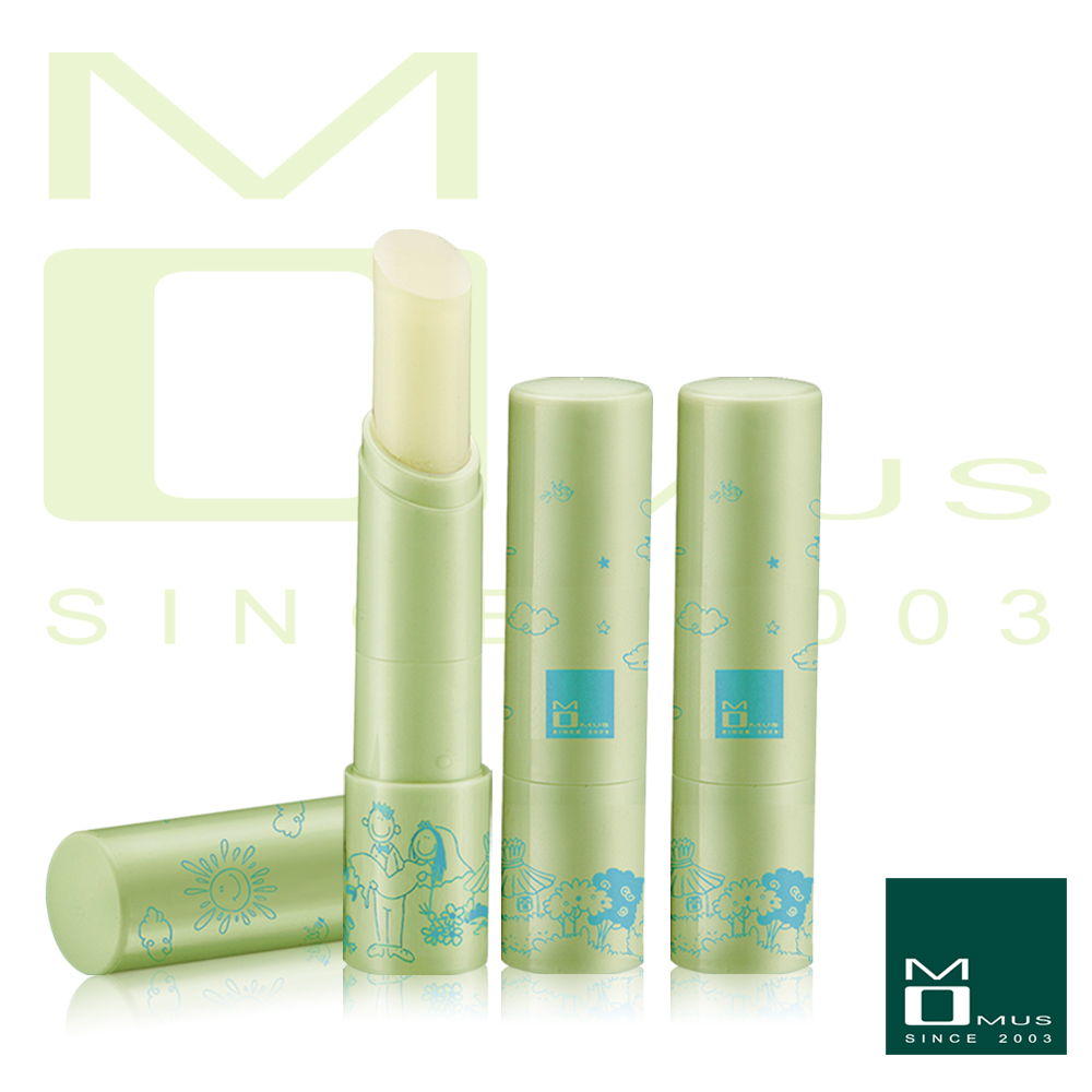 MOMUS 美白潤唇修護素 Plus^(無味^)1組3支
