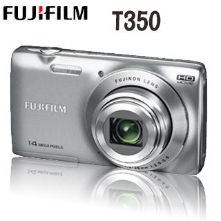 【贈16G+副廠電池+相機包+清潔好禮】富士 FinePix T350 超薄機身 (中文平輸)