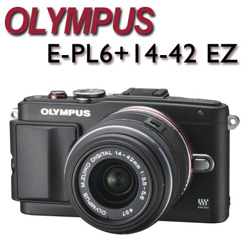 送第二顆原電 OLYMPUS E-PL6+14-42 EZ 電動鏡 平行輸入
