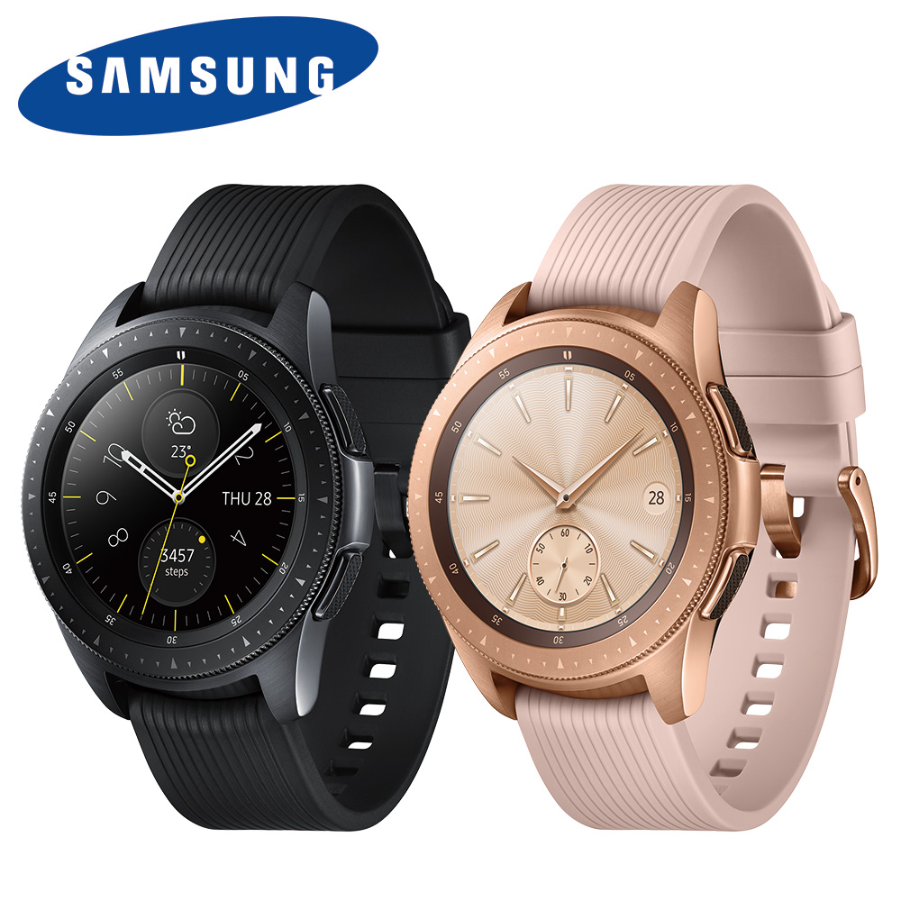 <限時下殺再送保貼+原廠錶帶!>SAMSUNG Galaxy Watch 42mm (藍牙) 智慧手錶 R810