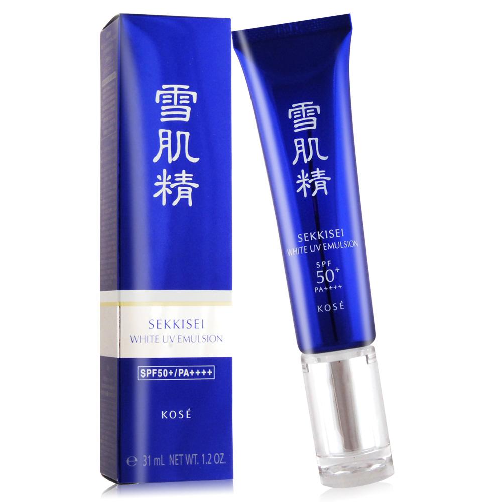 KOSE 高丝 雪肌精光感澄皙UV柔肤乳SPF50+‧PA++++(31ml/35g)-百货公司货
