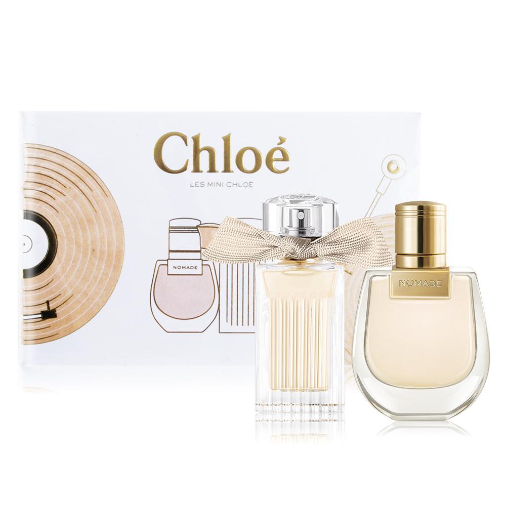 Chloe' Les Mini Chloe 小小雙氛派對禮盒[同名+芳心之旅](20mlX2)-香水公司貨