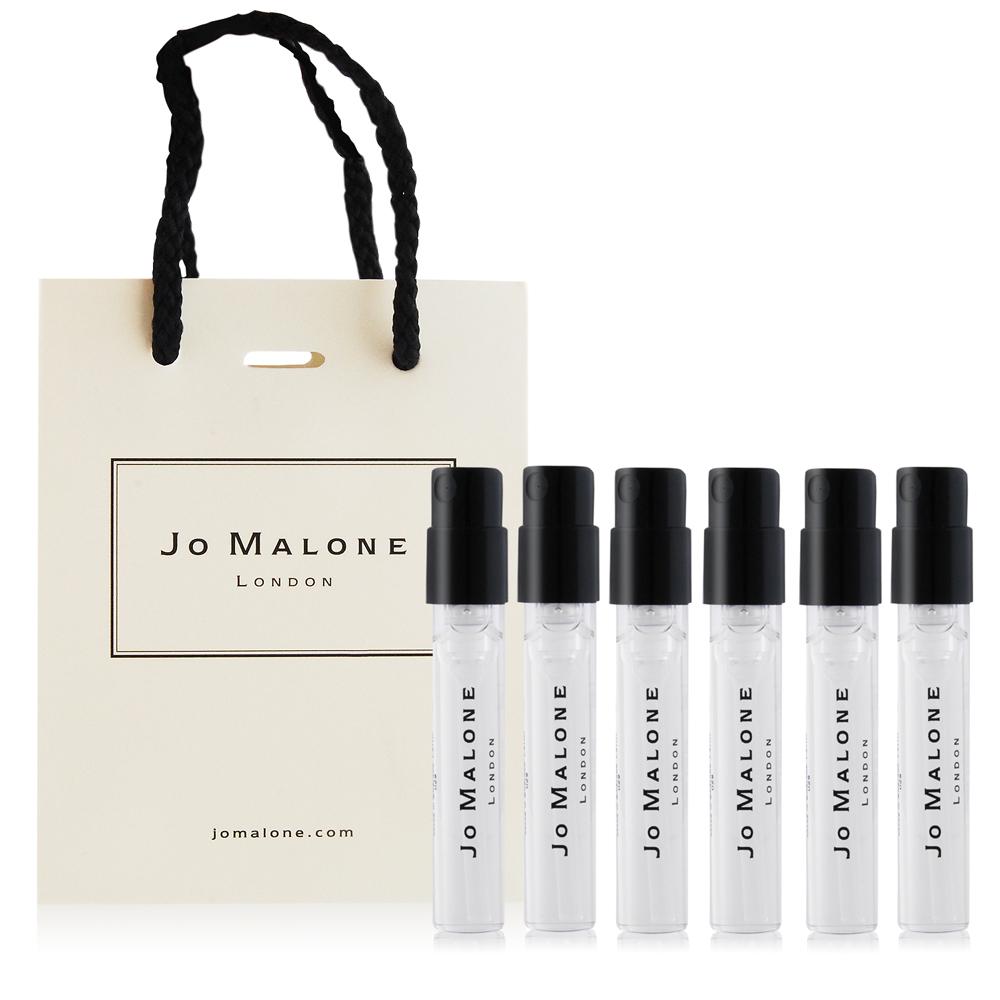 Jo Malone 針管香水六入組(1.5mlX6)-附品牌提袋-多款可選