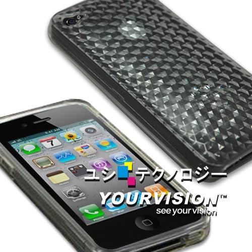 Apple iPhone 4 晶鑽水亮高質感保護套(贈拭鏡布)