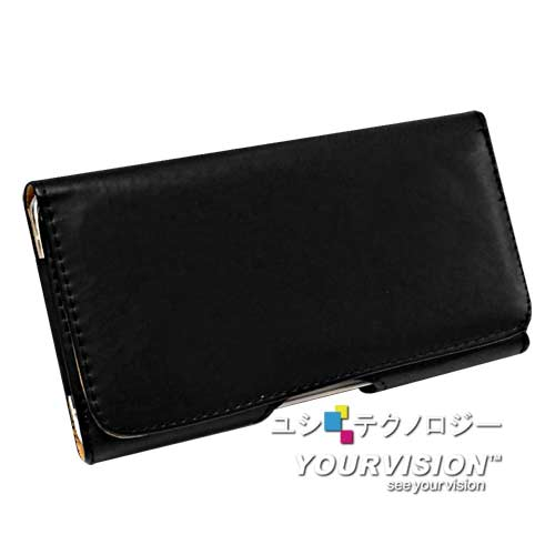 Samsung GALAXY Note 4 經典品味(腰帶環有扣)腰掛磁扣皮套