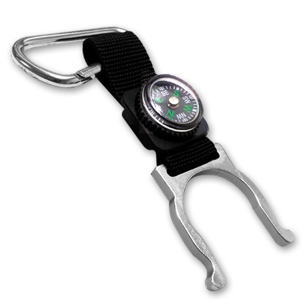 《4入》寶特瓶專用易攜式固定環(附掛勾)