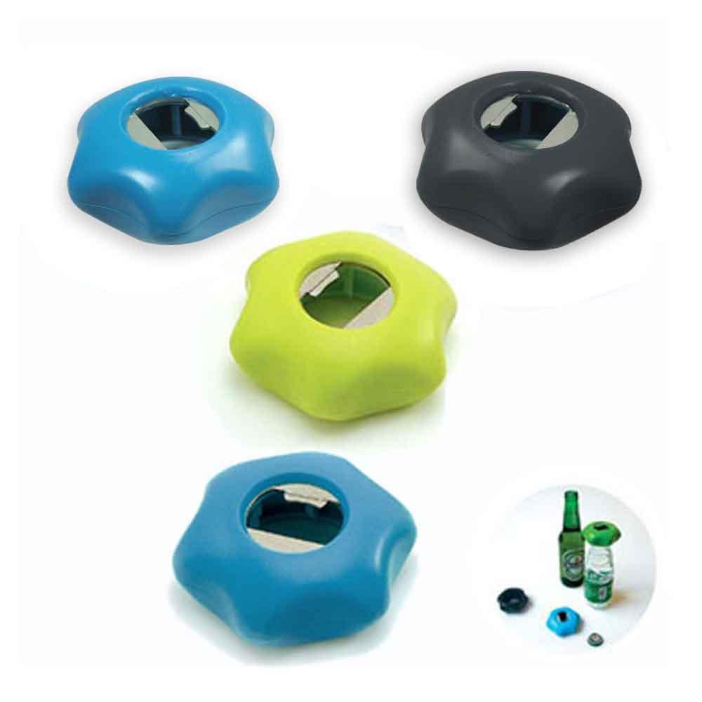 (2入) 星星造型多功能開瓶器 開罐器(磁鐡冰箱貼)