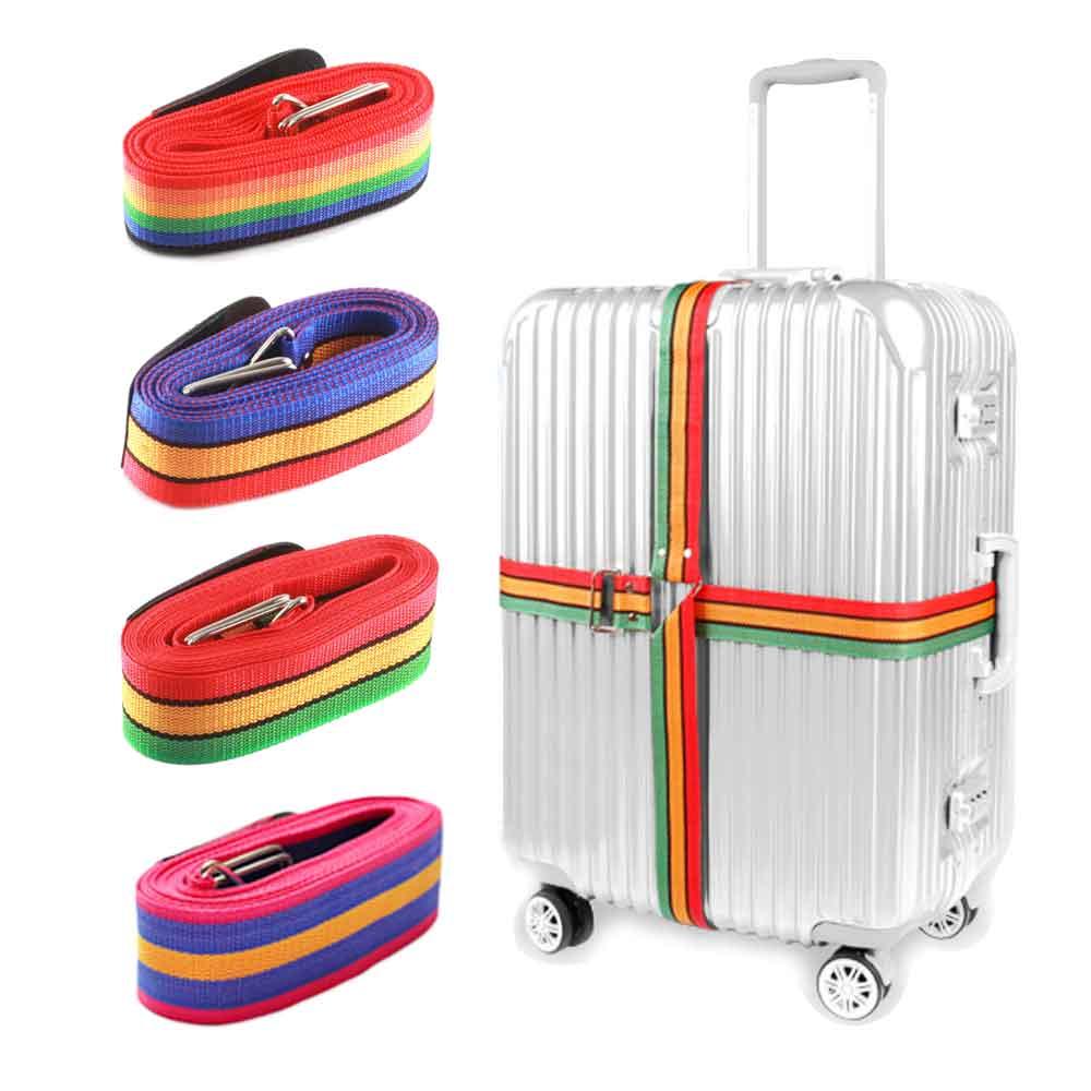 行李箱 旅行箱 十字束帶 打包帶 十字綁帶 托運綁帶