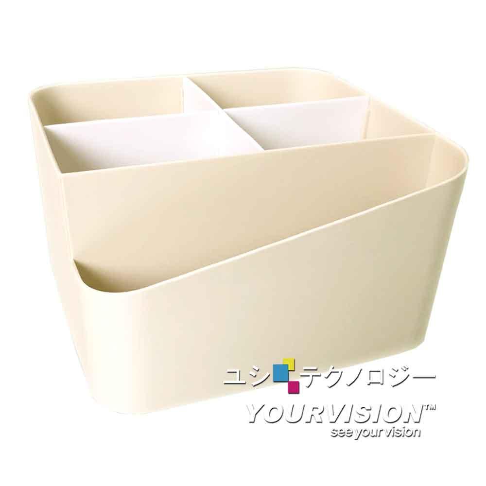 桌上分格收納盒 遙控器 化妝品 小物 筆 收納盒 儲物盒 整理盒