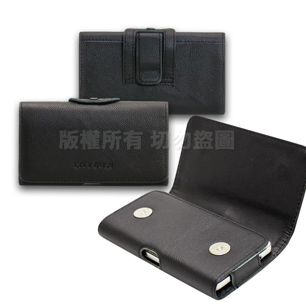 CITY for 紅米Note 6 Pro / 紅米7 / 紅米Note 7 精品真皮橫式腰掛皮套