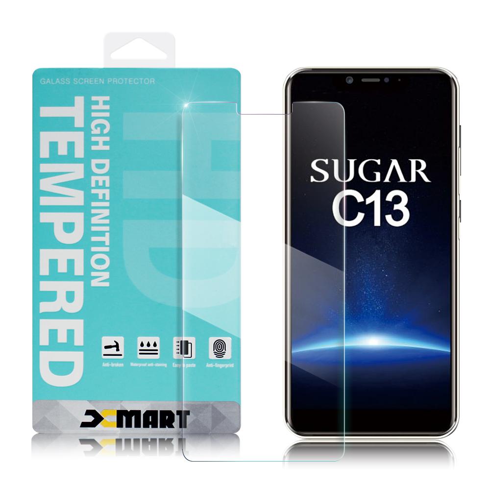 Xmart for SUGAR C13 薄型 9H 玻璃保護貼-非滿版